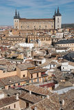 Cesarski miasto Toledo Hiszpania Obrazy Royalty Free