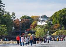 cesarski pałac Tokyo zdjęcia stock