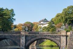 Cesarski pałac, Tokio, Japonia Obrazy Stock