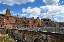 Cesarskie dziury w tło turystach, obrazy royalty free
