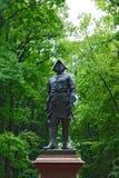 cesarz ja Peter pomnikowy rosjanin Fotografia Royalty Free