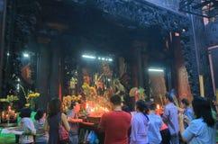 Cesarza chabeta świątyni Chi minh miasto Saigon Wietnam Ho Obrazy Royalty Free