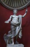 Cesarza Claudius statuy watykan Rzym Zdjęcie Royalty Free