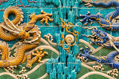 Cesarza smok Wall016 Obrazy Stock