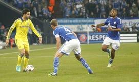 Cesc Fàbregas FC Schalke v FC Chelsea 8eme Final Champion League Royalty Free Stock Images