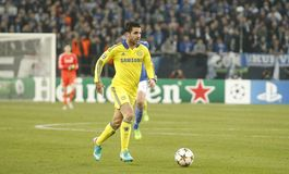 Cesc Fàbregas FC Schalke v FC Chelsea 8eme Final Champion League Stock Image