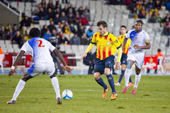 Cesc Fabregas of Catalonia National team Royalty Free Stock Images