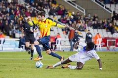 Cesc Fabregas of Catalonia National team Royalty Free Stock Image