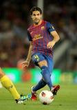 Cesc Fabregas of FC Barcelona Stock Images