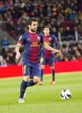 Cesc Fabregas FC Barcelona Стоковое Изображение