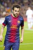 Cesc Fabregas of FC Barcelona Stock Photo