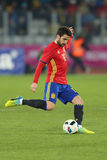 Cesc Fabregas. Francesc Cesc Fabregas Soler midfielder of the Spanish National Football Team, pictured during the friendly match between Romania and Spain stock images