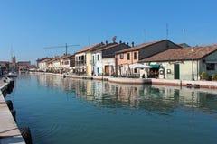 Cesenatico, Италия Стоковое фото RF