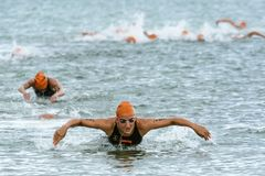 Triathlon Cesenatico 2017 stock photo