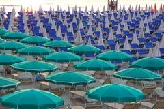 Cesenatico plaża Obrazy Stock