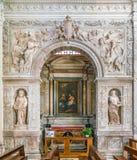 Cesi教堂安东尼奥da Sangallo il Giovane,在圣玛丽亚della步幅教会里在罗马,意大利 库存照片