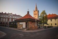 Cesis, Λετονία, Ευρώπη Στοκ Φωτογραφίες