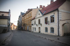 Cesis, Латвия, Европа Стоковое Изображение