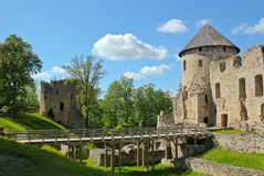 Cesis castle Stock Images