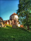 Cesis Castle in Latvia, Europe stock photos