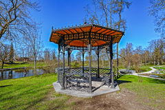 Cesis castle park, Cesis, Latvia in spring Stock Photography