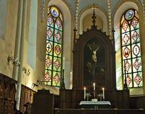 cesis kościelny John Latvia święty obrazy stock
