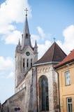 Cesis, la iglesia de St John, Letonia Fotos de archivo libres de regalías
