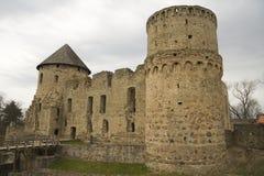 cesis latvia замока wenden Стоковые Фото