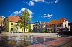 Cesis, Latvia, Europa obrazy royalty free