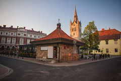 Cesis, Latvia, Europe. The beautiful city centre of Cesis, Latvia, Europe Stock Photos