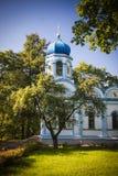 Cesis, Latvia, Europe. Beautiful orthodox church in Cesis, Latvia, Europe Royalty Free Stock Photography