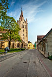 Cesis, Lettland lizenzfreies stockfoto