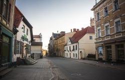 Cesis Lettland, Europa arkivbild
