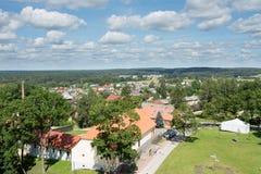 Cesis panorama Stock Photo