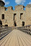 Cesis Schloss Lizenzfreie Stockfotografie