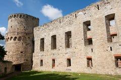 Cesis-Schloss Stockfoto