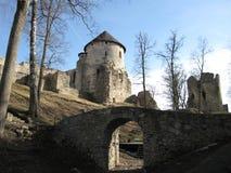 Cesis-Schloss Lizenzfreies Stockfoto