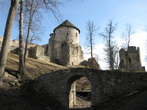 Cesis slott Royaltyfri Foto