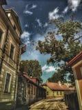 Cesis-Stadt, Lettland, Europa stockfoto