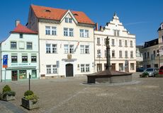 Ceska Kamenice, Czech republic Royalty Free Stock Photos
