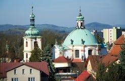 Ceska Kamenice, Czech republic Royalty Free Stock Images