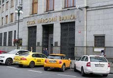 Czech national bank Royalty Free Stock Photography