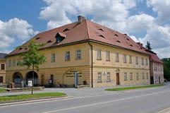 Ceska Skalice, Czech republic. Bozena Nemcova Museum and Textile Museum in town Ceska Skalice , Eastern Bohemia, Czech republic Stock Photography