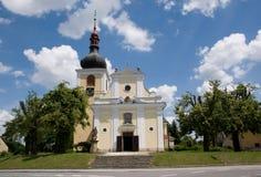 Ceska Skalice, Czech republic. Church Virgin Mary Assumption  in town Ceska Skalice, Eastern Bohemia, Czech republic Royalty Free Stock Photo