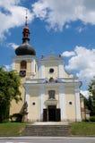 Ceska Skalice, Czech republic. Church Virgin Mary Assumption  in town Ceska Skalice , Eastern Bohemia, Czech republic Stock Photos