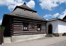 Ceska Skalice, Czech republic. Historical school  in town Ceska Skalice , Eastern Bohemia, Czech republic Royalty Free Stock Photography