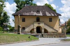 Ceska Skalice, Czech republic. Small  rectory in town Ceska Skalice , Eastern Bohemia, Czech republic Royalty Free Stock Photos