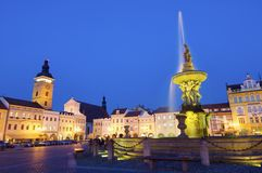 Ceske Budejovice Royalty Free Stock Photography