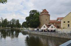 Ceske Budejovice Fotos de archivo