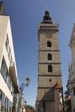 Ceske Budejovice - Black tower Stock Image